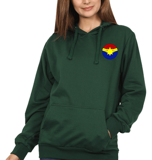 Ektarfa Garments Women Hoodies Captain Marvel logo Hoodie for Women