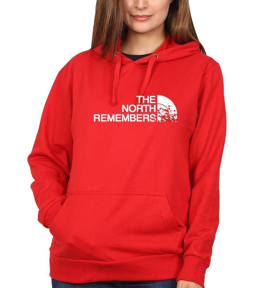 Ektarfa Garments Women Hoodies GOT Game Of Thrones North Remembers Hoodie for Women