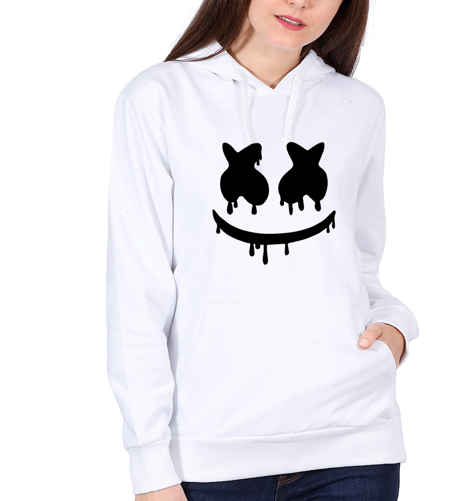 Ektarfa Garments Women Hoodies Marshmello Hoodie for Women