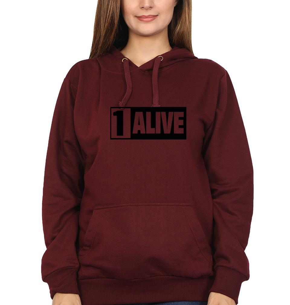 Ektarfa Garments Women Hoodies PUBG 1 Alive Hoodie for Women