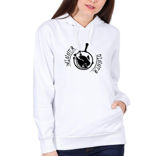 Ektarfa Garments Women Hoodies PUBG winner dinner Hoodie for Women