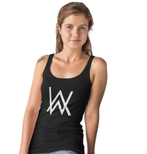 Ektarfa Garments Women Tank Top Alan Walker Tank Top for Women