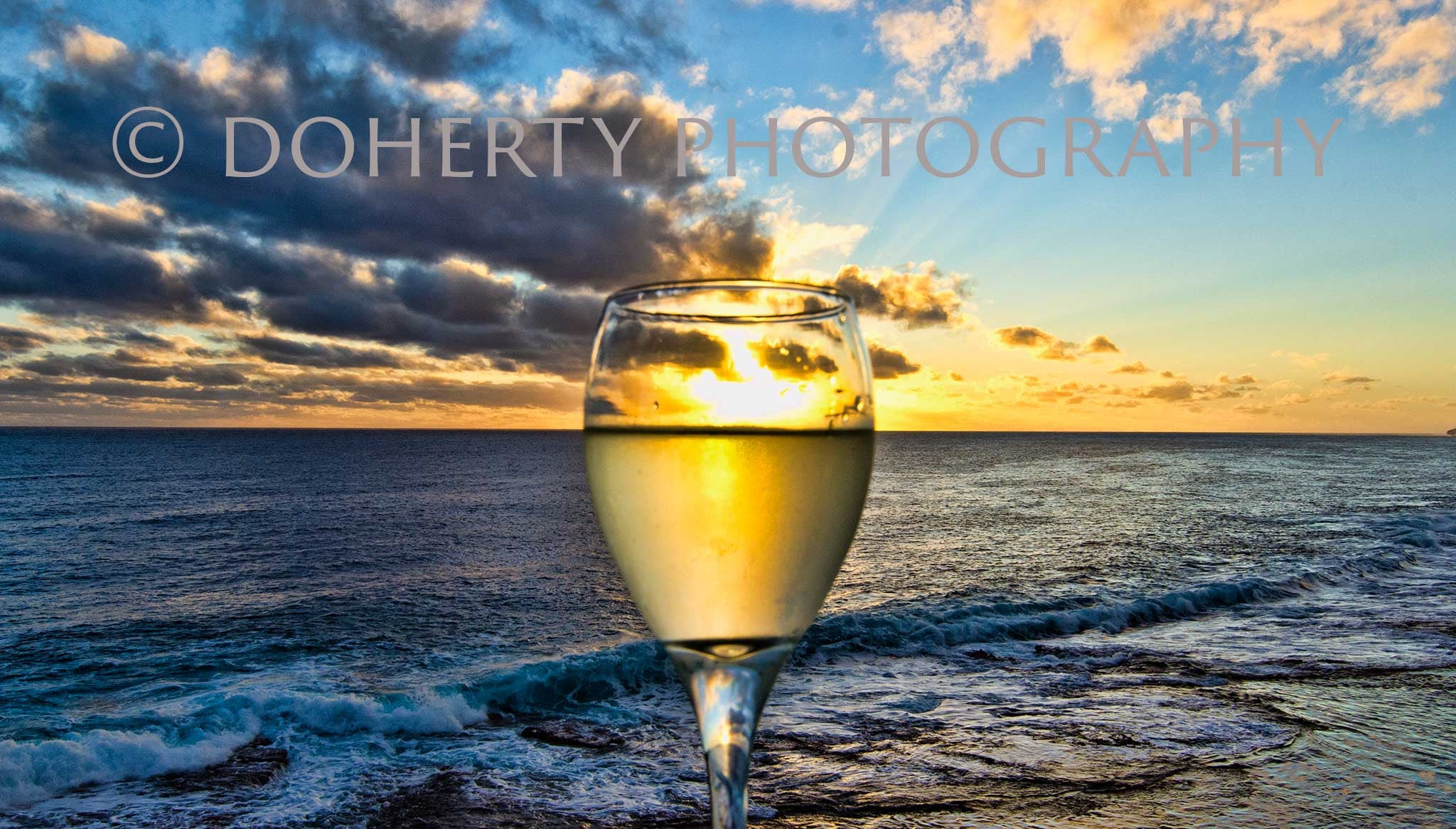 Fine Wine in the Sunshine - Doherty Photography