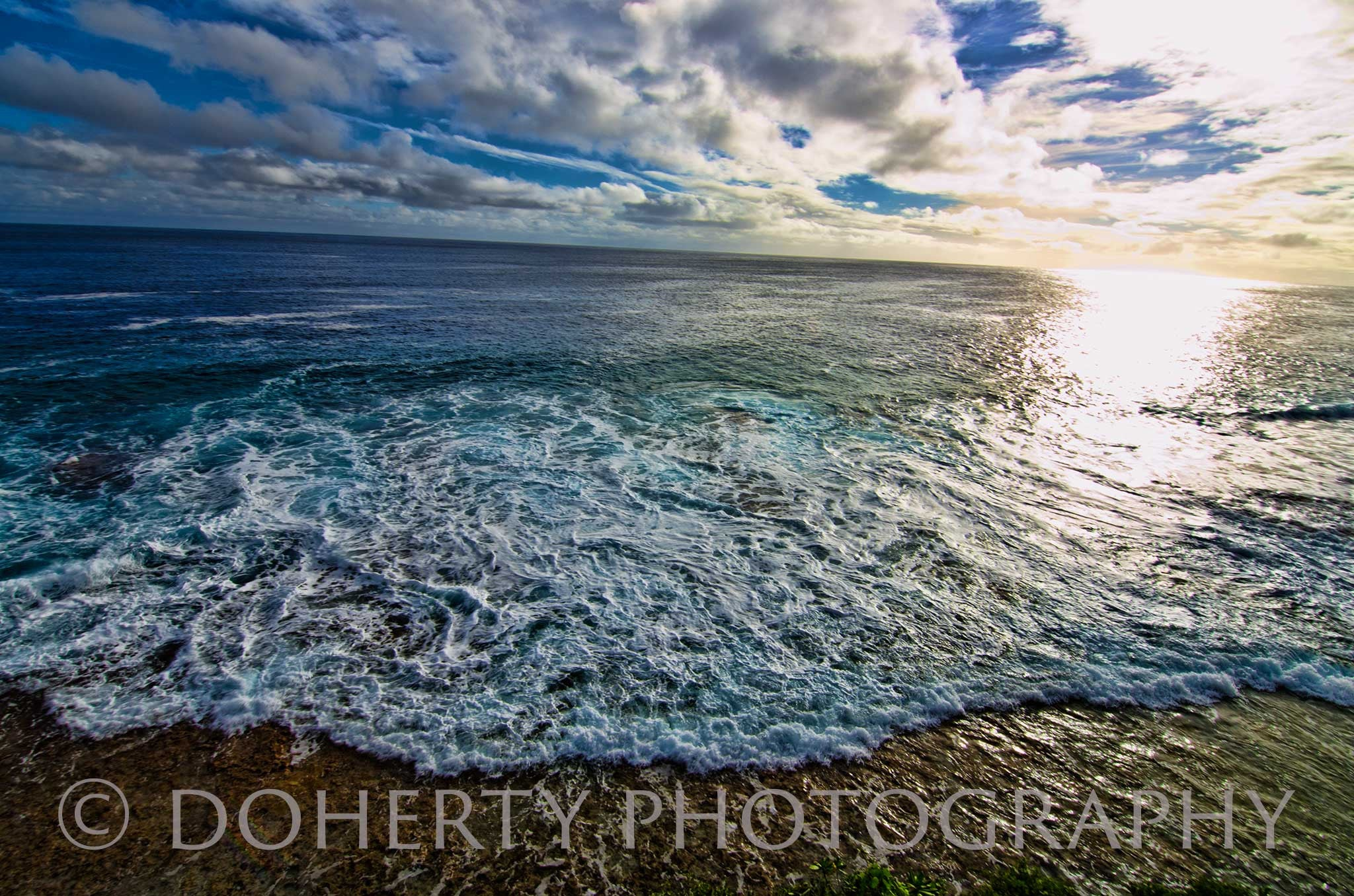 Where the Ocean Meets the Sky - Doherty Photography