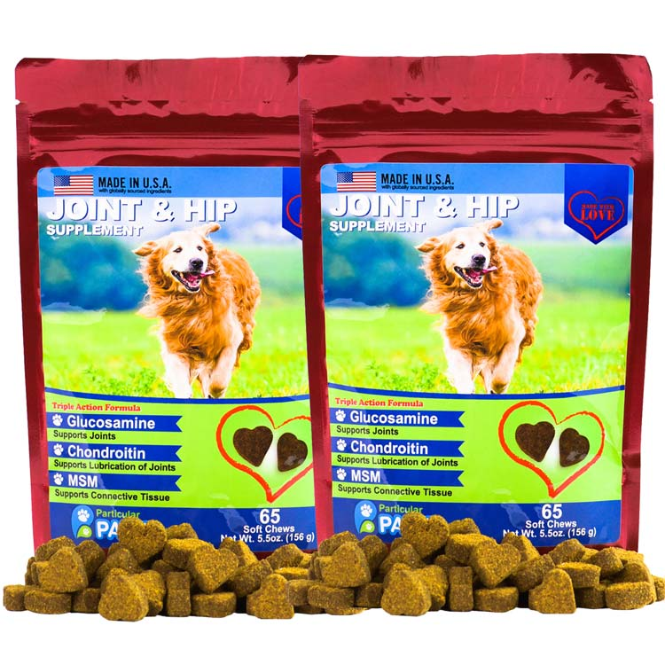 2X Joint and Hip Treats for Dogs