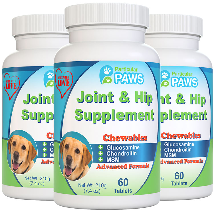 3X Joint and Hip Supplement for Dogs