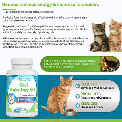 stress relief for cats