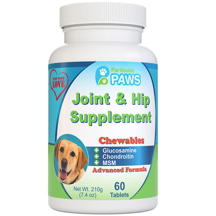 Glucosamine for dogs joint and hip supplement