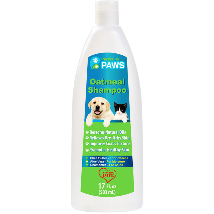 Best Oatmeal Shampoo For Dogs And Cats Particular Paws