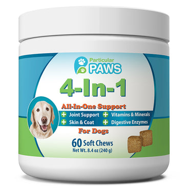 4-in-1 Vitamin Complete Health Support Soft Chews for Dogs