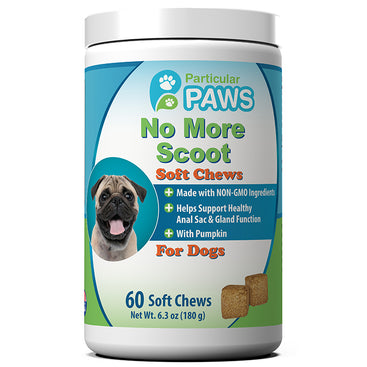 No More Scoot Soft Chews for Dogs