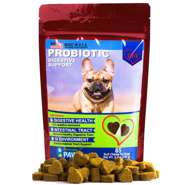 Probiotics for Dogs Digestive Support Treats
