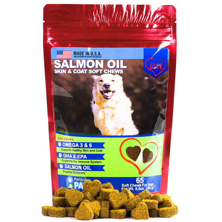 Salmon Oil Soft Chews for Dogs