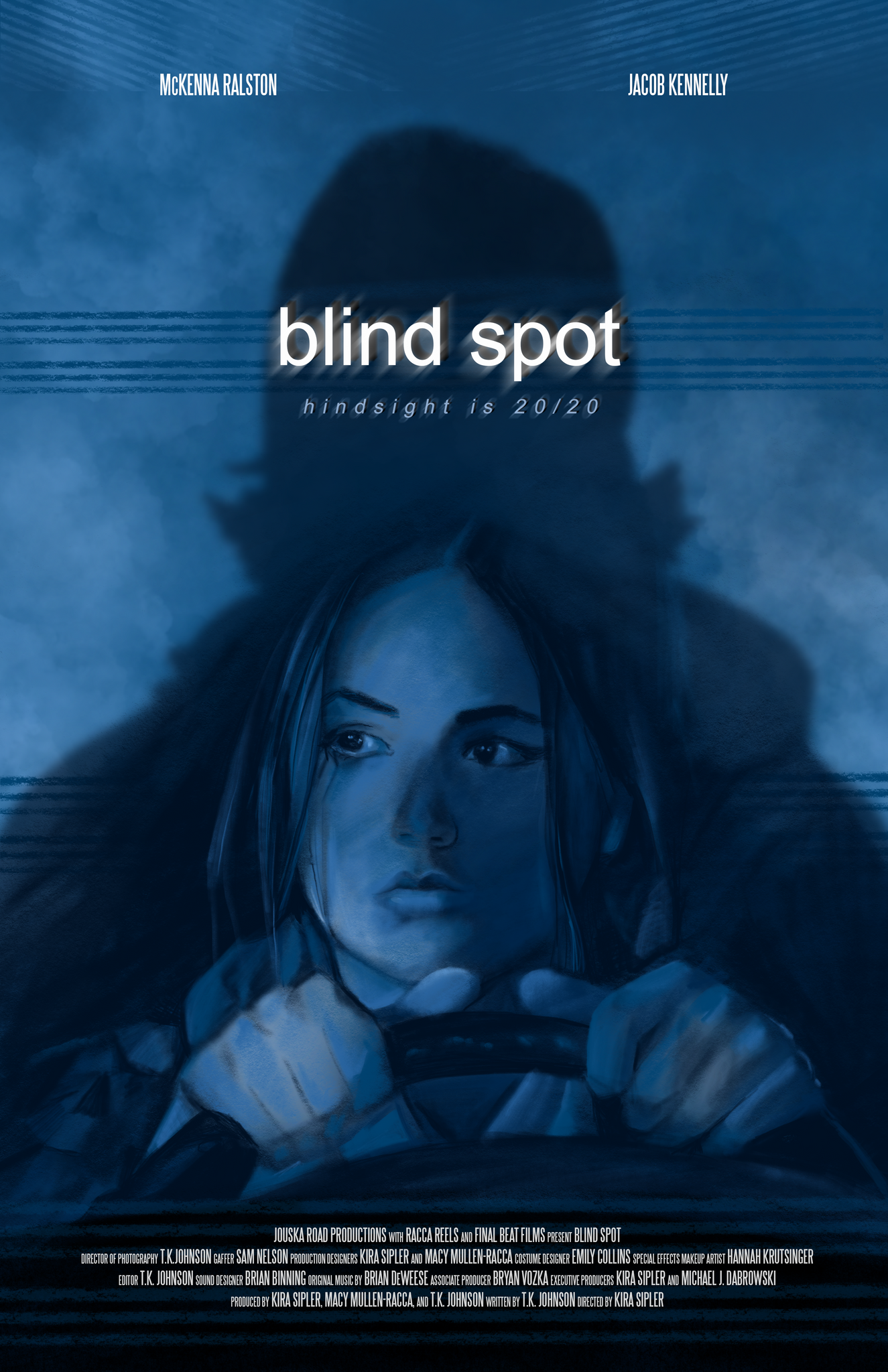"""blind spot"" Poster Design -thoughts behind the design"