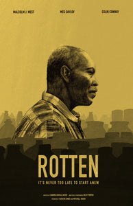 """Rotten"" Poster Design- thoughts behind the design"