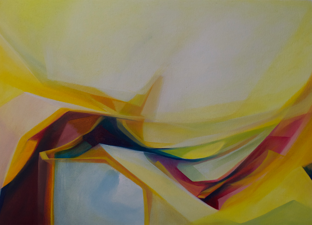 """Graceful Slide"" -Original Abstract Painting"