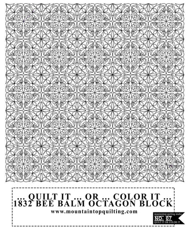 QUILT IT OR COLOR IT 07