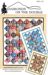 MQS 112E DIAMONDS ON THE DOUBLE (includes free bonus pattern)