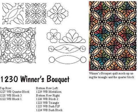 1230 WINNERS BOUQUET BUNDLE