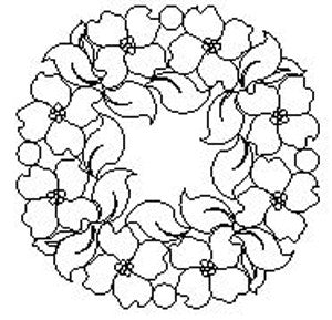 1646 DOGWOOD WREATH