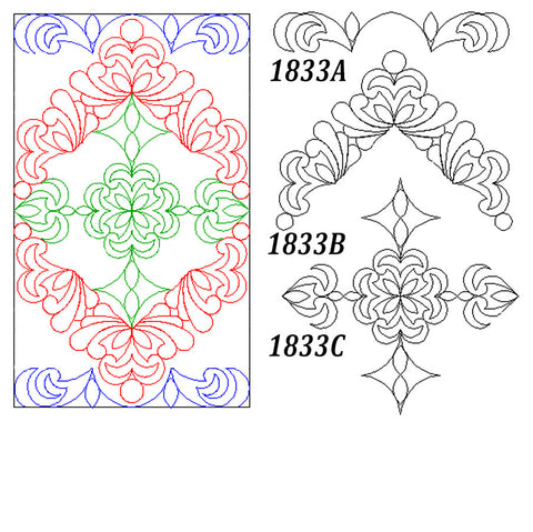 1833 PATS BLOCK SET