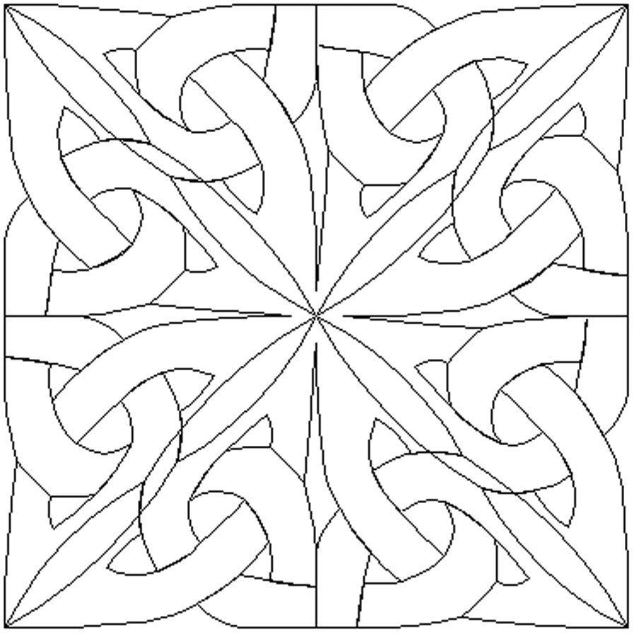 1845 CELTIC KNOT BLOCK 4