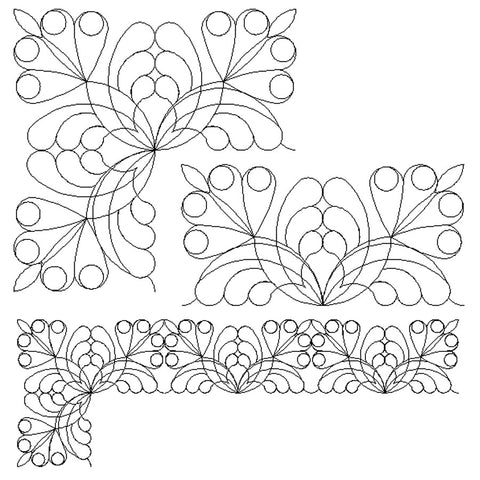 1856 BUTTERFLY BORDER BUNDLE
