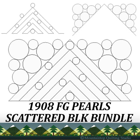 1908 FG PEARLS SCATTERED BUNDLE