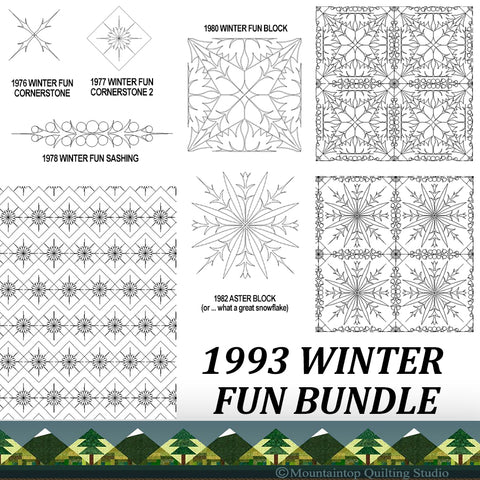 1993 WINTER FUN BUNDLE