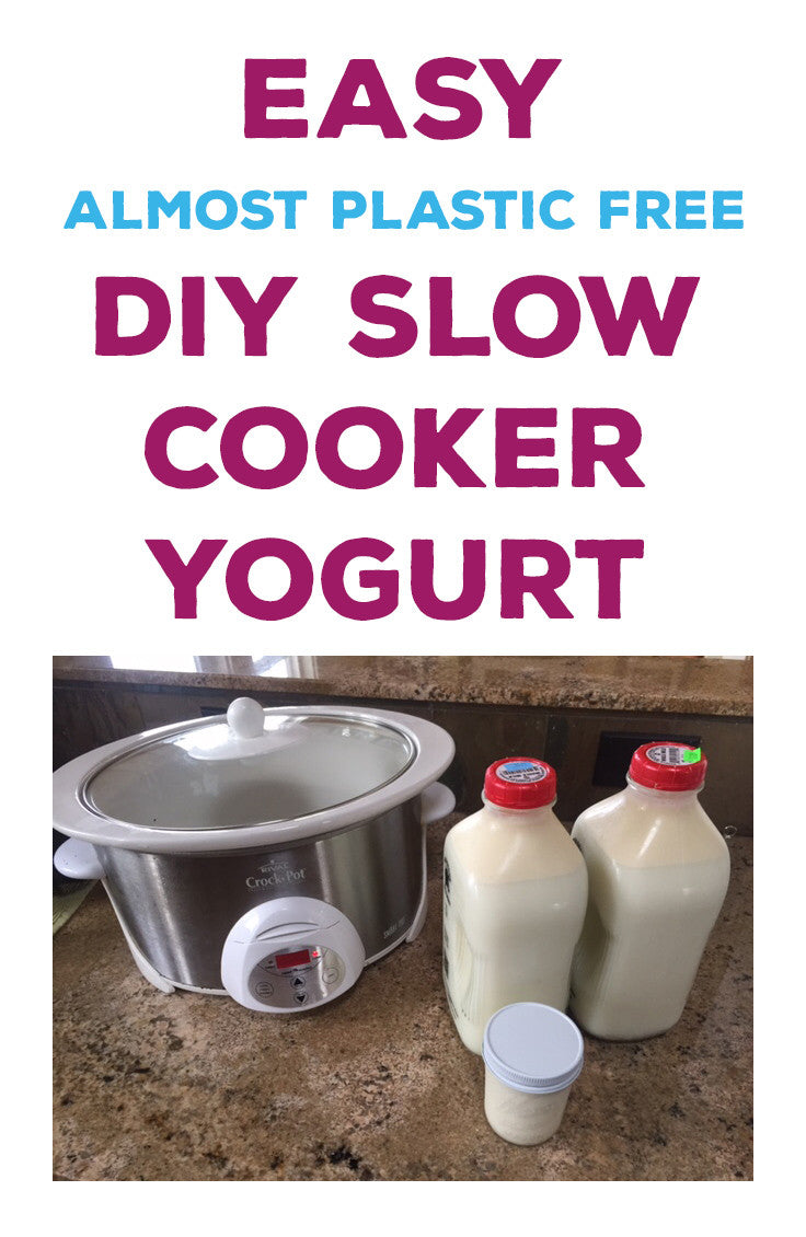 Make your own yogurt with less than 10 min prep time.