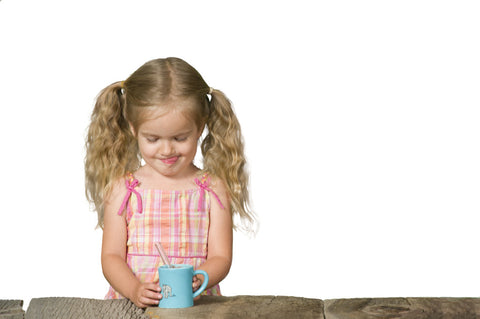Bitty Mugs are for Kids and Pair Perfectly with GlassDharma Straws