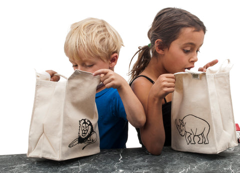 Organic Cotton Lunch Bag Sale
