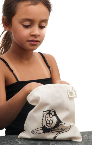Cotton Bags are great for Gifts, Snacks, Lunches, Produce and Bulk Foods