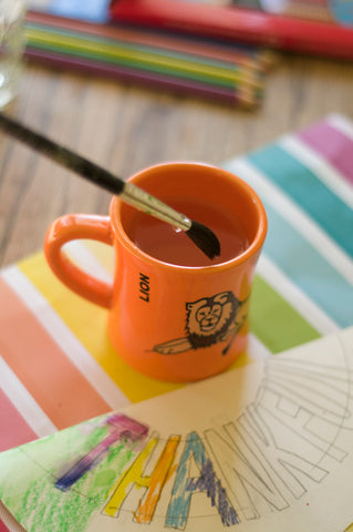 BittyMugs are awesome for painting projects because they don't tip over