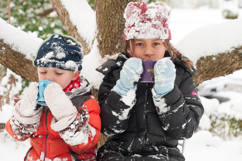 Hot Chocolate for Kids in the Snow
