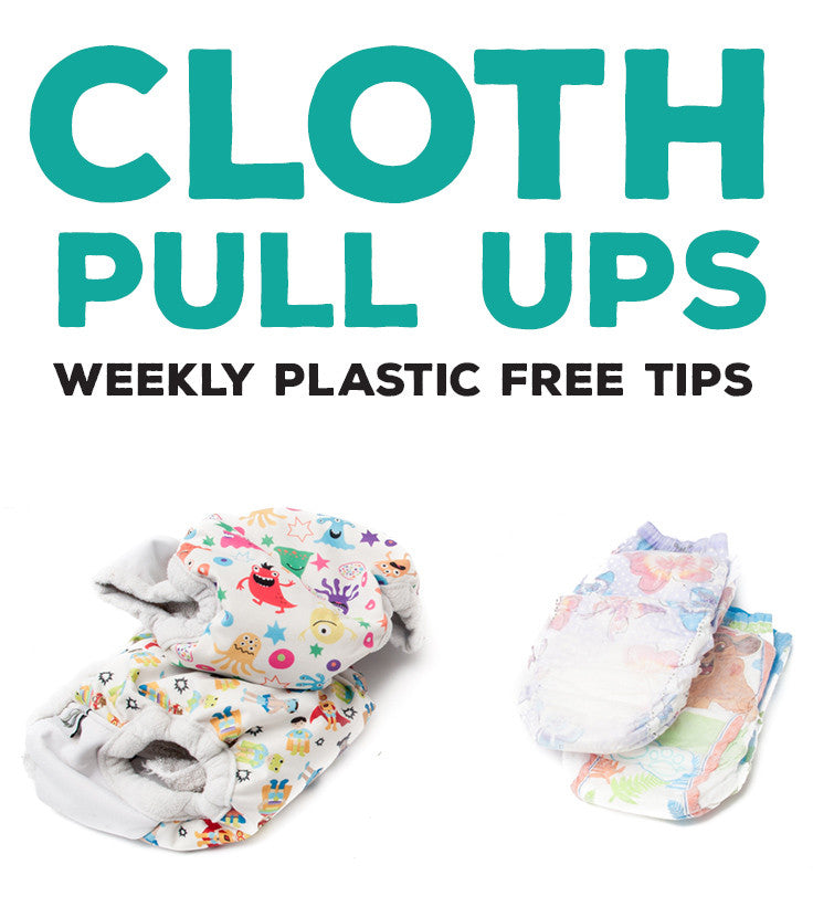 Reusable Cloth Pullups Reduce Plastic Waste