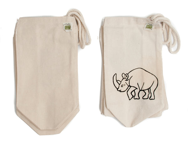 Closeout: Organic Cotton Canvas Lunch Bag-Organic Cloth Bags-Wildini