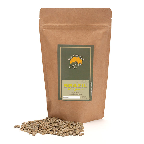 Brazil Mogiana Green Unroasted 12 oz