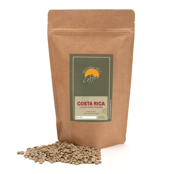 Costa Rica Deredia Green Unroasted 2 lbs