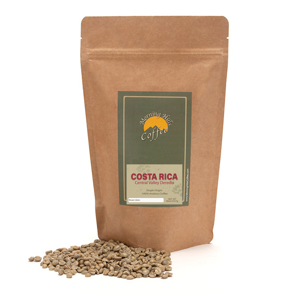Costa Rica Deredia Green Unroasted 5 lbs