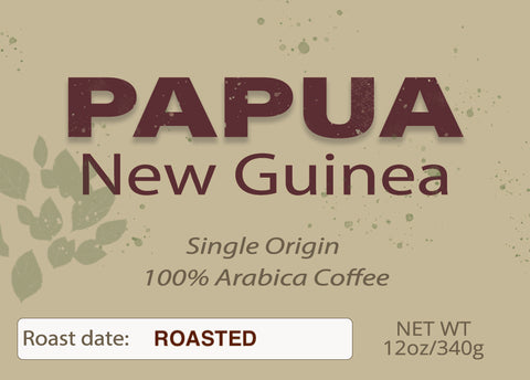 Papua New Guinea Single Origin Organic 12 oz