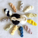 Naturally Dyed Yarn Weavers Bundle