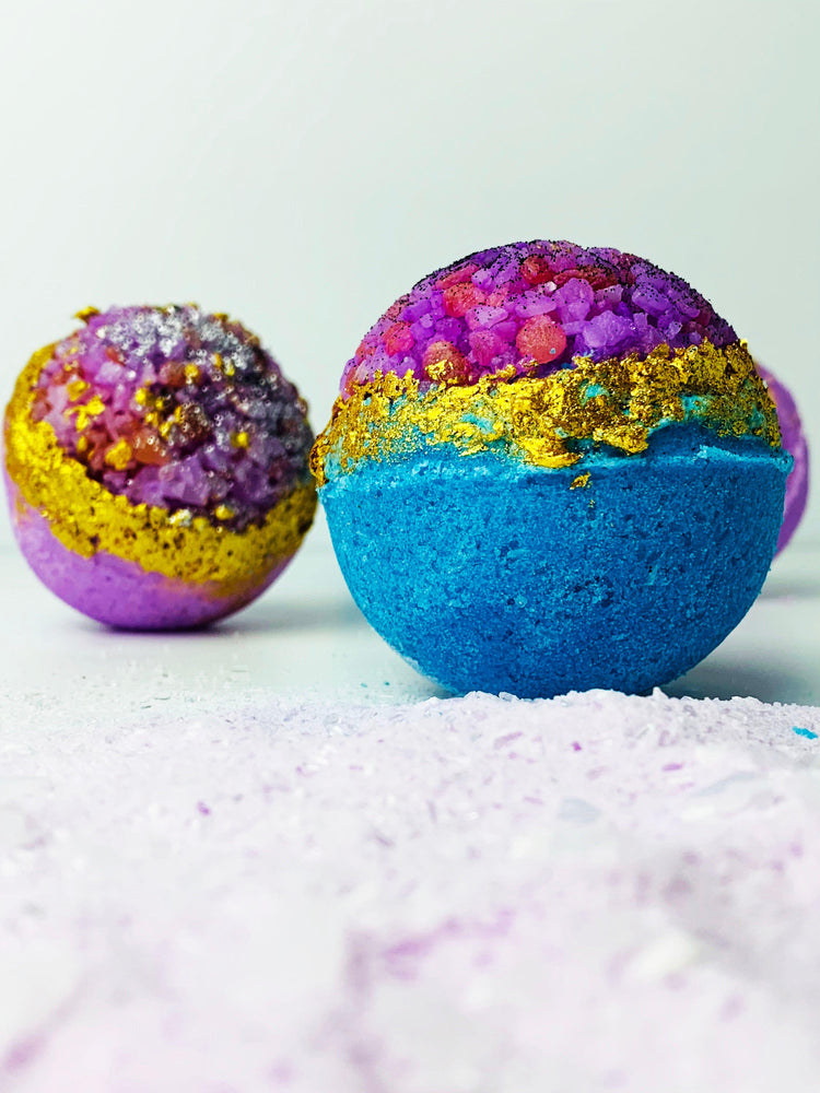 Load image into Gallery viewer, Geode Bath Bomb Making Kit