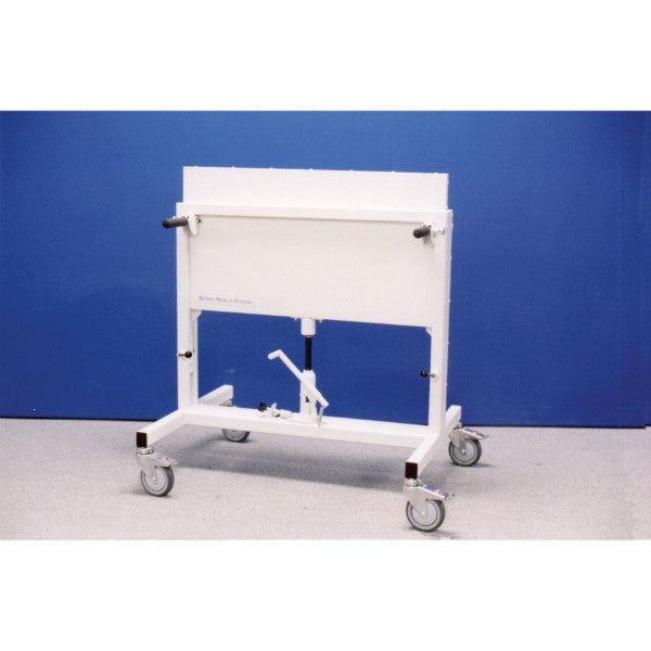 Adjustable Height Mobile Radiation Shield
