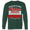 The Best Way To Spread Christmas Cheer Is Checking Out Books To Everyone Here Ugly Christmas Sweater