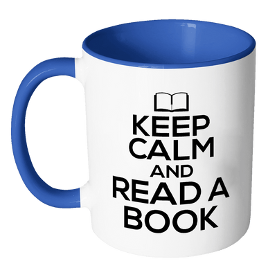 Keep Calm And Read A Book Accent Mugs - Awesome Librarians