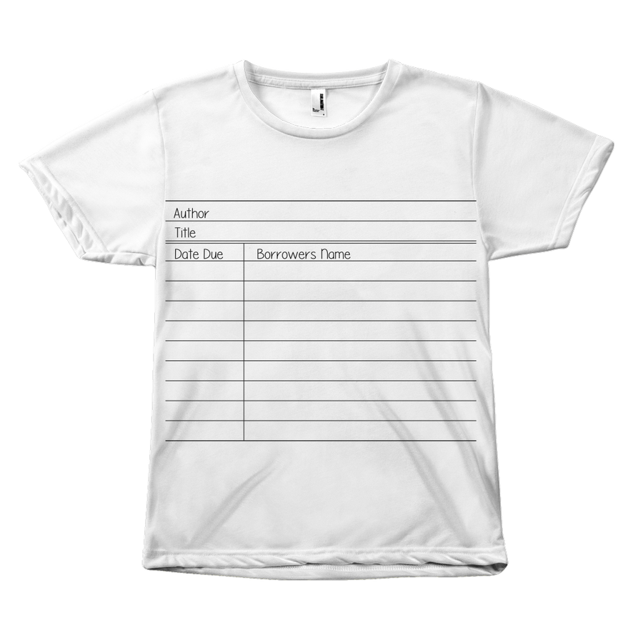 Library Card T-Shirt