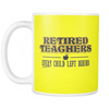 Retired Teacher Every Child Left Behind Mug - Awesome Librarians - 8