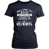 I'd Love To Stay But I'm Lying I Want To Go Back To Reading Shirt