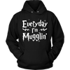 Everyday I'm Mugglin Shirt - Awesome Librarians